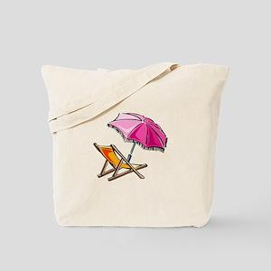BEACH CHAIR [3] Tote Bag